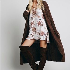Free People heartbeat floral tunic/dress